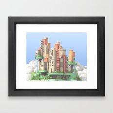 Floating City 02 Framed Art Print