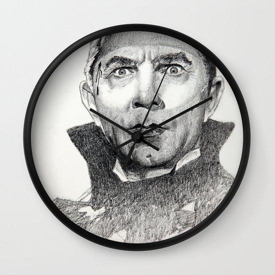 Dracula Bela lugosi Wall Clock