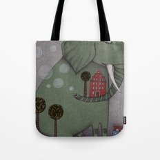 It's an Elephant! Tote Bag