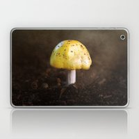 Little Yellow Mushroom Laptop & iPad Skin