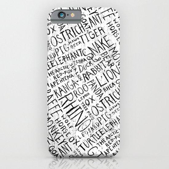 Animal Block iPhone & iPod Case