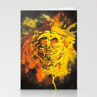 Tiger Style. Stationery Cards