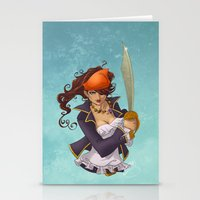 Pirate Stationery Cards