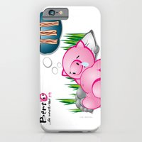 Berto: The Mental-issue pig taking a nap iPhone 6 Slim Case