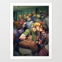 Theodore And William 04 Art Print