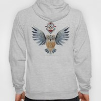 owl winter Hoody