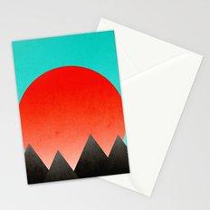 Blood Orange Sunset Stationery Cards