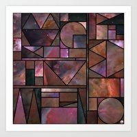 Kaku Nebula Art Print
