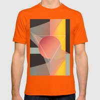 Objectum Mens Fitted Tee Orange SMALL