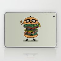 Geek Burger Laptop & iPad Skin