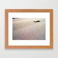 Board On The Sun Framed Art Print