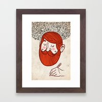 the artist Framed Art Print