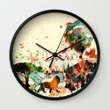 World as One : Human Kind Wall Clock