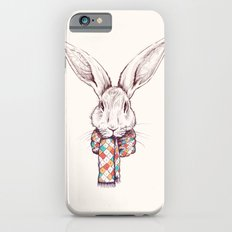 Bunny and scarf iPhone 6s Slim Case