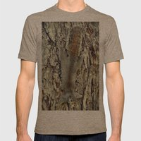 Nature Camouflage Mens Fitted Tee Tri-Coffee SMALL