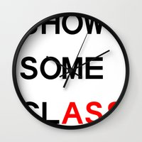 Show Some clASS Wall Clock