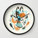 Go Fish Wall Clock