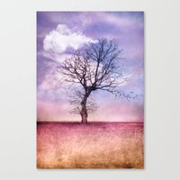 ATMOSPHERIC TREE | Early… Canvas Print