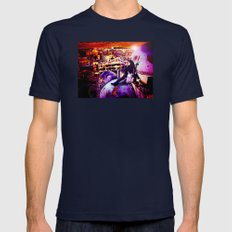 Take Me Homs Mens Fitted Tee Navy SMALL