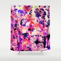 flowers and dandelions Shower Curtain