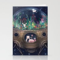 Space Home Stationery Cards