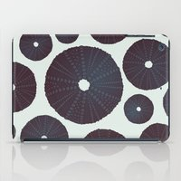 Sea's Design - Urchin Skeleton (Black) iPad Case