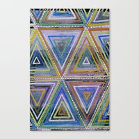 Triangling Canvas Print