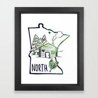 Northland Love Framed Art Print
