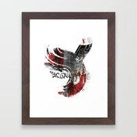 Flying Wind Framed Art Print