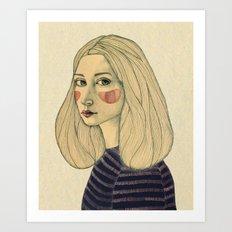 Susie Art Print