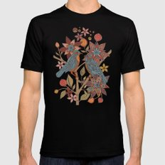 Lovebirds SMALL Mens Fitted Tee Black