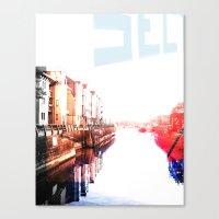 Waterfront Canvas Print