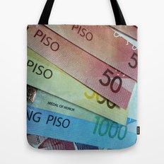 Philippine Cash Tote Bag