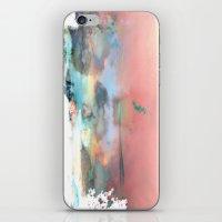 Clouds like Splattered Watercolor iPhone & iPod Skin