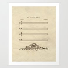 The Sound of Silence Art Print