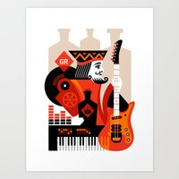 Great Revivers Art Print