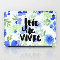 Joie De Vivre iPad Case