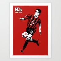 K Is For Kaka Art Print