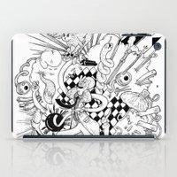 I've seen things (Black & White) iPad Case