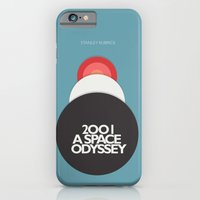 2001 a Space Odyssey - Stanley Kubrick Movie Poster iPhone 6 Slim Case
