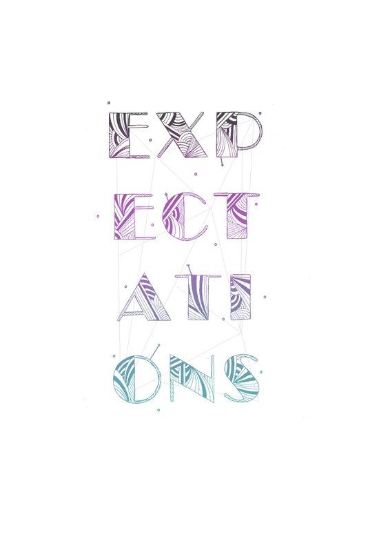 Expectations Art Print