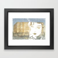 URB'ART Framed Art Print