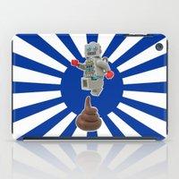 Poo jumping iPad Case
