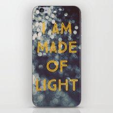 Made Of Light iPhone & iPod Skin