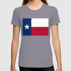 State Flag Of Texas - Th… Womens Fitted Tee Slate SMALL