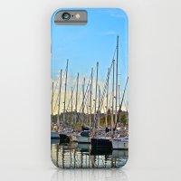 Harbor: Barcelona, Spain iPhone 6 Slim Case