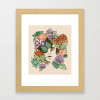 Brianna's Garden Framed Art Print