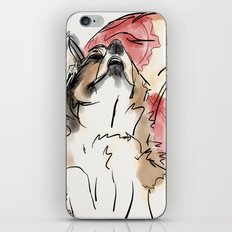 Charles Red iPhone & iPod Skin
