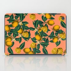 Lemon and Leaf iPad Case