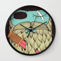 Captain Hope Wall Clock